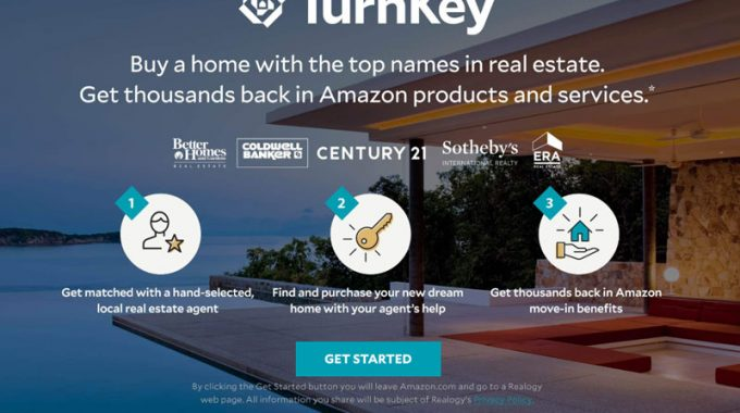 Turnkey Le Nouveau Service Amazon Et Realogy